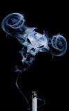 副流煙、吸入