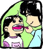 フッ素配合歯ミガキの利用